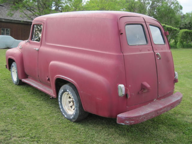 1956 ford pannel truck classic vintage barn find project for sale photos technical. Black Bedroom Furniture Sets. Home Design Ideas