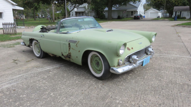 1956 Ford Thunderbird Base Convertible 2-Door