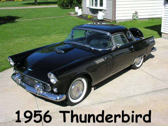1956 Ford Thunderbird w/ Hardtop  - Continental Package