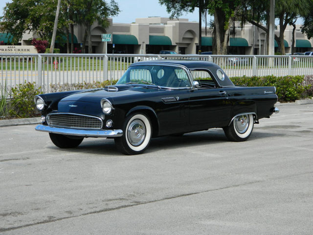 1956 Ford Thunderbird T Bird Both Tops Port Hole Hard Top 312 3