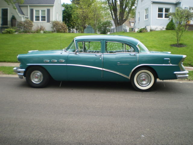 1956 green buick special w original 322 v8 5 3l for 1956 buick special 4 door