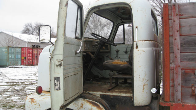 Used Cars Sioux City >> 1956 International Coe (Cab-Over-Engine) Grain Truck for ...