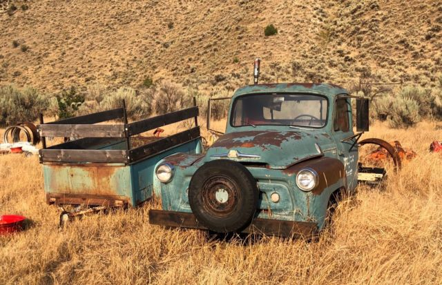 1956 International Harvester S-120 4WD Pickup Truck AND