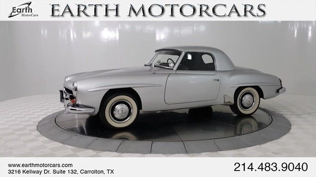 1956 mercedes 190sl orig engine solex carbs restored orig bill