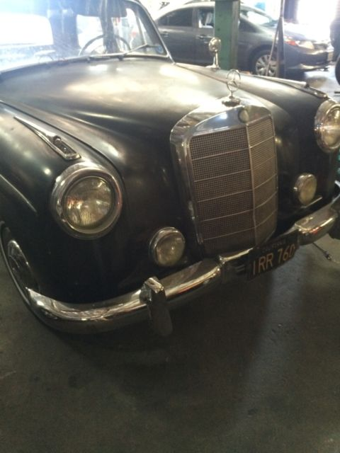 220 Best Justice Judgement Images On Pinterest: 1956 Mercedes 219 With Rag Top Looks Like 220 Ponton 1957