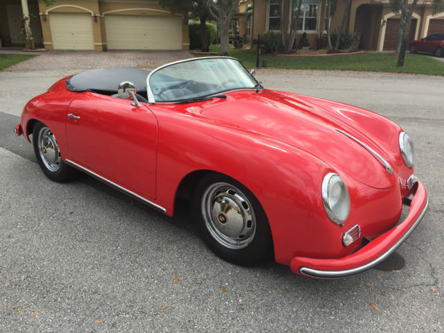 1956 Porsche 356 Speedster Replica 1600 Super - FREE SHIPPING!!!