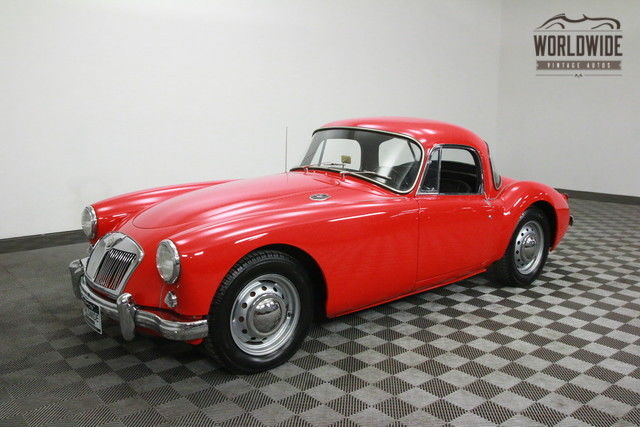 1956 MG MGA COUPE! COMPREHENSIVE RESTORATION.