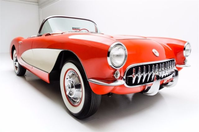 1956 Chevrolet Corvette Red, Dual Quads