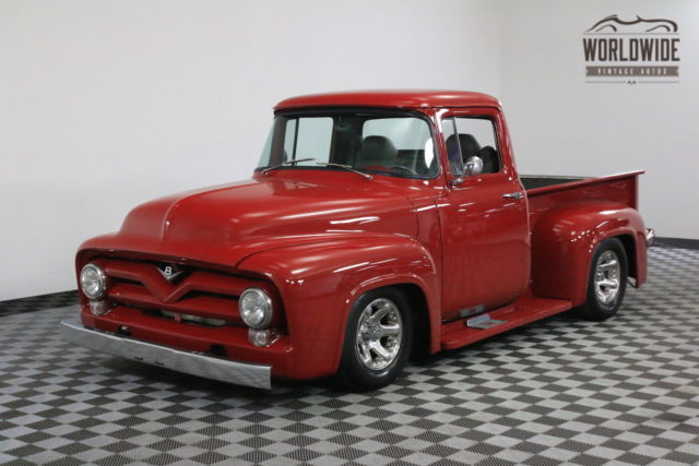 1956 Ford F100 RARE PICKUP 400CID V8 AUTO FRONT DISC BRAKES