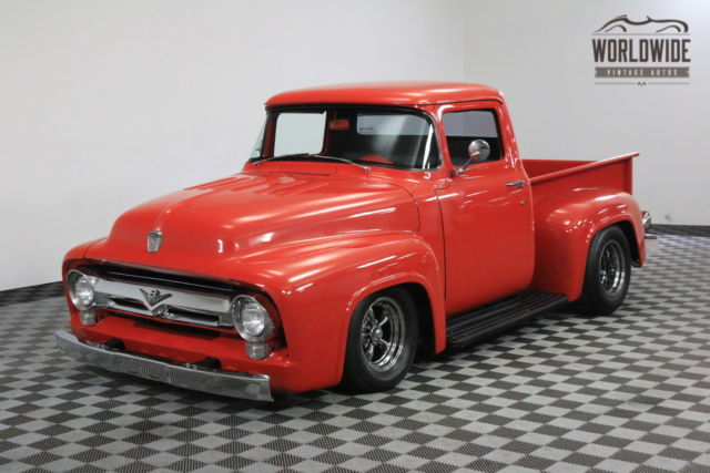 1956 Ford F100 RESTORED SHOW TRUCK CHOP V8 PS PB