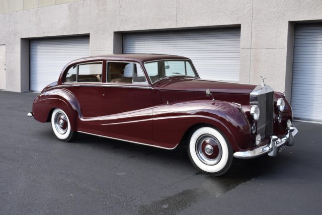 1956 Rolls-Royce Silver Wraith Touring Limousine