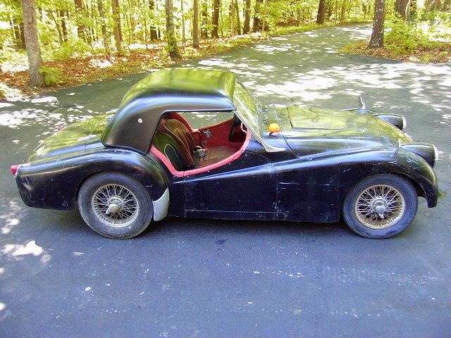 1956 Triumph Small Mouth Tr3 Roadster Easy Project Overdrive
