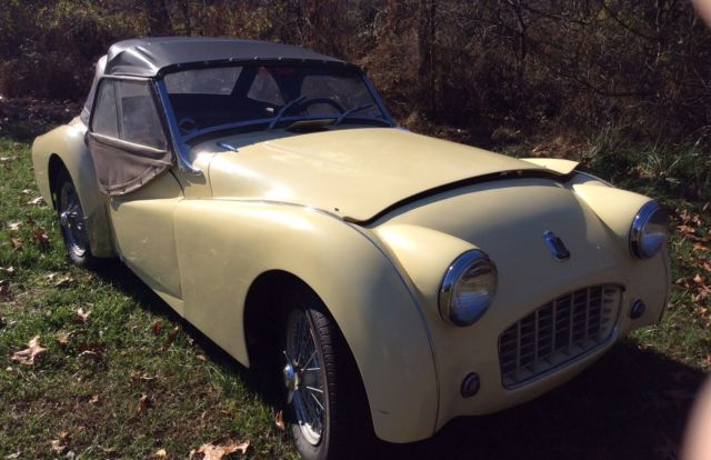 1956 Triumph Other TR3
