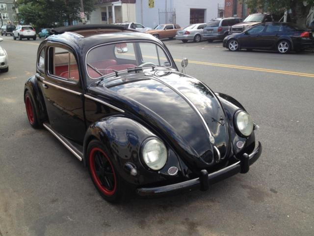 1956 volkswagen beetle classic oval window rag top for sale photos technical specifications. Black Bedroom Furniture Sets. Home Design Ideas
