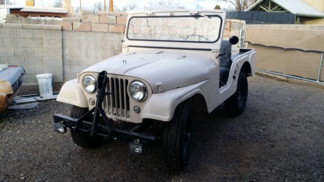 1956 willys jeep cj-5 2.2l hurricane motor 4x4 mostly original for