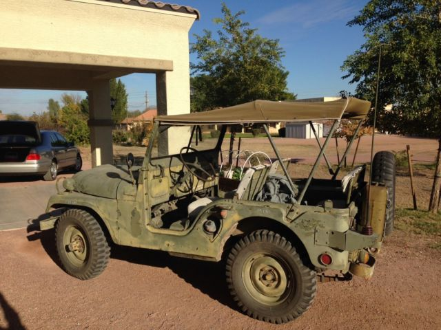 1956 Willys Jeep M38 A 1 Jeep Nekaf Military Radio