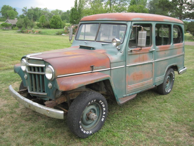 1956 Willys 4X4 wagon