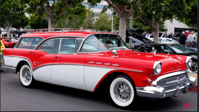 1957 buick caballero station wagon older restored rare cover magazine for sale photos. Black Bedroom Furniture Sets. Home Design Ideas