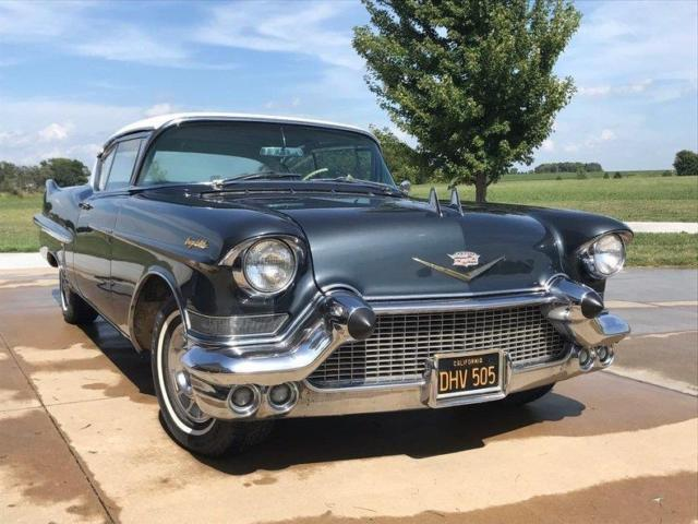 1957 Cadillac DeVille Power Windows, Power Seats
