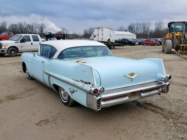 1957 Blue Cadillac Other Coupe de Ville /Power Brakes Power steering Coupe with Blue interior