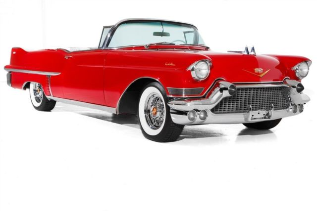 1957 Cadillac Series 62 Factory AC PS PB PW