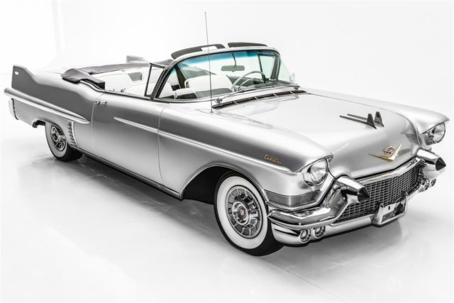 1957 Cadillac Series 62 Silver,  Black & White Int. (WINTER CLEARANCE SALE