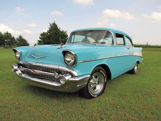 1957 Chevrolet Bel Air/150/210 TRADITIONAL MILD HOT ROD TIMELESS RESTORATION