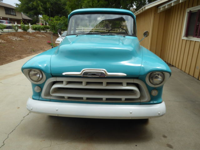 1957 Chevrolet Other Pickups 3200 Step Side Long Bed Pick-Up