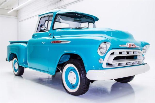 1957 Chevrolet Apache 3100 Extensive Resto 383425 Ac Automatic