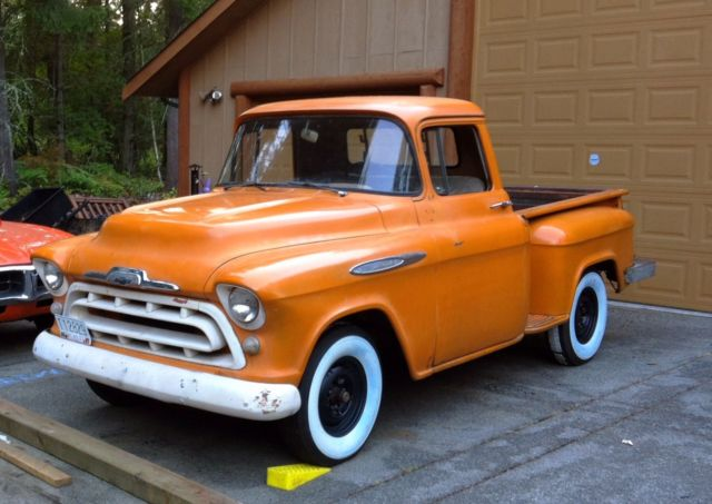 1957 Chevrolet Apache Shortbed Pickup For Sale Photos Technical