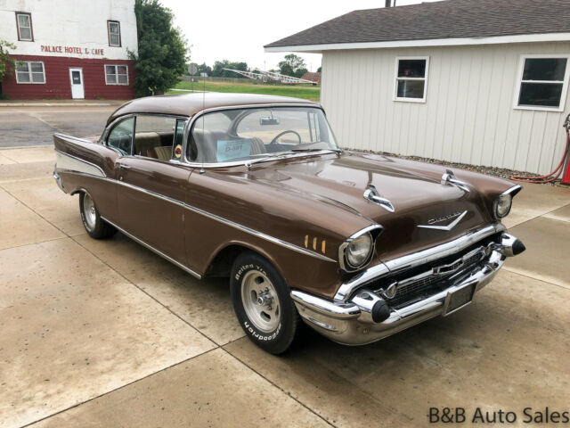 1957 Chevrolet Bel Air  100000 Miles Brown   Automatic