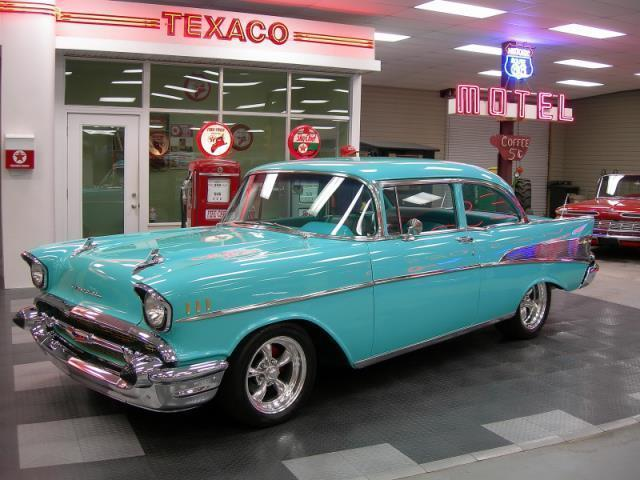 1957 Chevrolet Bel Air/150/210 210 4 door sedan