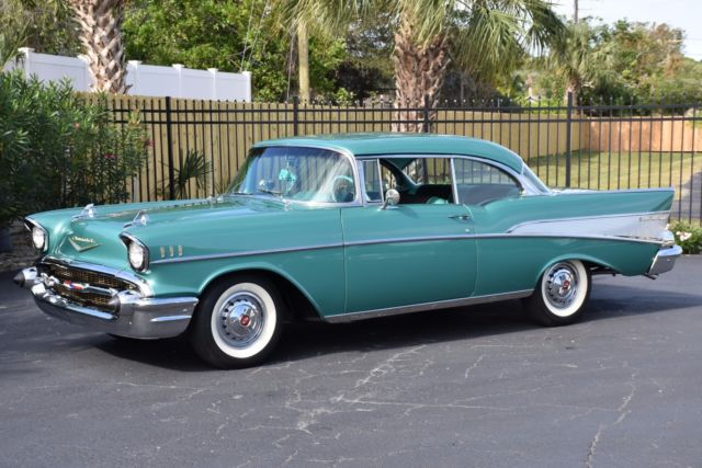 1957 Chevrolet Bel Air/150/210 283C.I. Power Pack V8 PS PB Air Conditioning - Ori