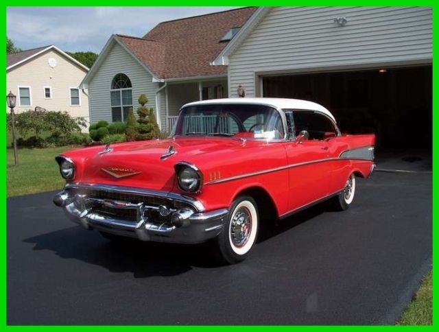 1957 Chevrolet Bel Air Hard Top 283 V8 Gasoline Automatic Powerglide