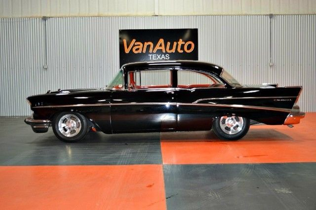 1957 Chevrolet Bel Air/150/210 210 2-door post