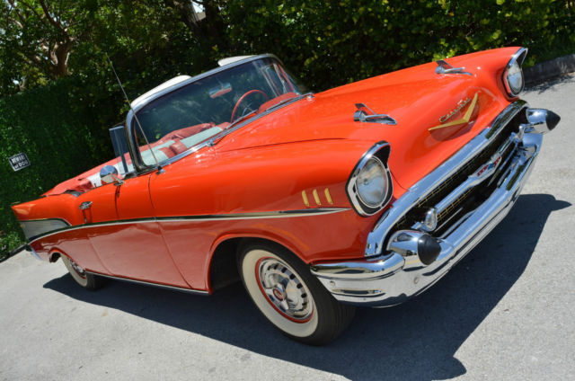1957 Chevrolet Bel Air/150/210 Barrett-Jackson SEE VIDEO!