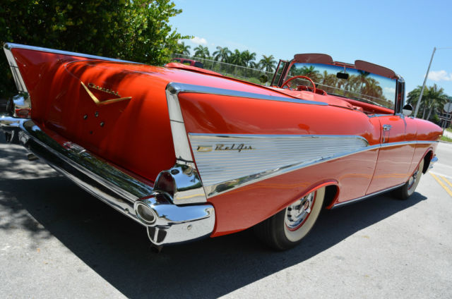 Miami Used Chevrolet >> 1957 Chevrolet BelAir Convertible restored not 1955 1956 restomod impala 1959 for sale: photos ...