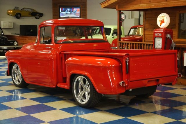 1957 chevrolet big window pickup fuel injected vortec for 1957 chevy big window truck for sale