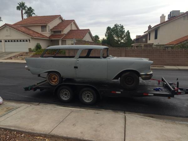 Chevrolet Nomad Rolling Chassis And Complete Body Project