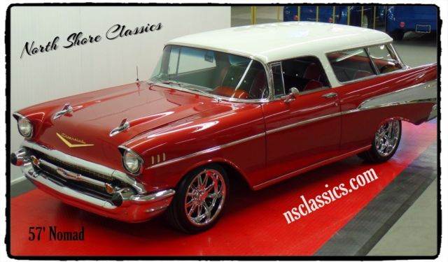 1957 Chevrolet Nomad NOMAD Bel Air 2 Door Station Wagon-RESTORED CALI