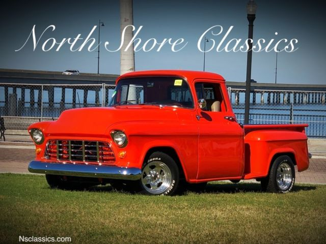 1957 Chevrolet Other Pickups 3100-HUGGER ORANGE- PICKUP- CUSTOM BED - FRAME OFF