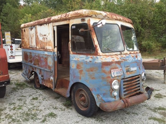 1957 chevrolet stepvan gerstenslager ex u s mail delivery truck van no reserve for sale photos. Black Bedroom Furniture Sets. Home Design Ideas