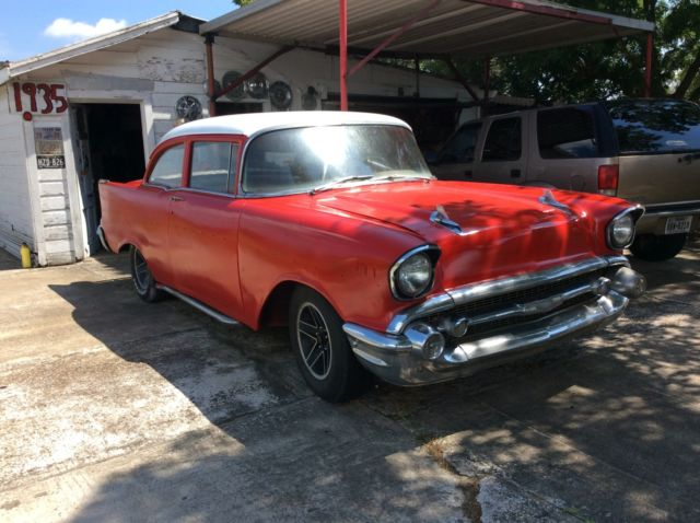 1957 Chevrolet Bel Air/150/210 2 dr sedan
