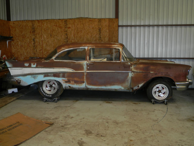 1957 chevy 210 2dr post project car 2 door for sale for 1957 chevy 2 door for sale