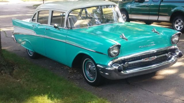 1957 Chevy 210 4 Door Excellent Condition 45 000
