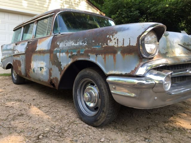 1957 chevy 210 4 door wagon for sale photos technical for 1957 chevy 4 door wagon for sale