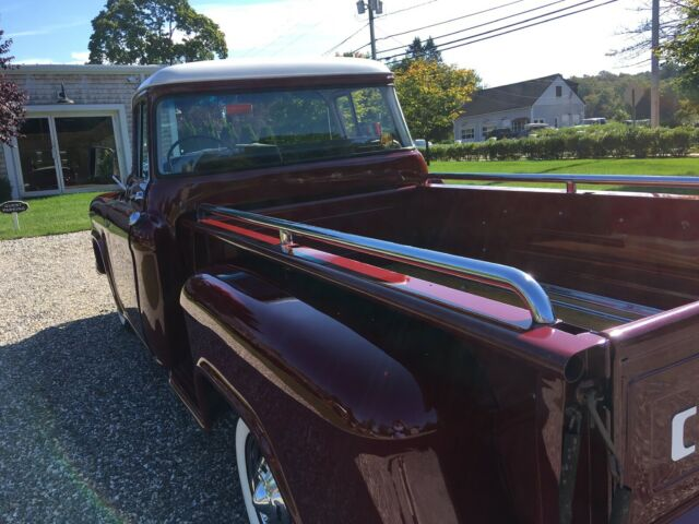 1957 Red/white Chevrolet Other Pickups 3100 with Grey interior