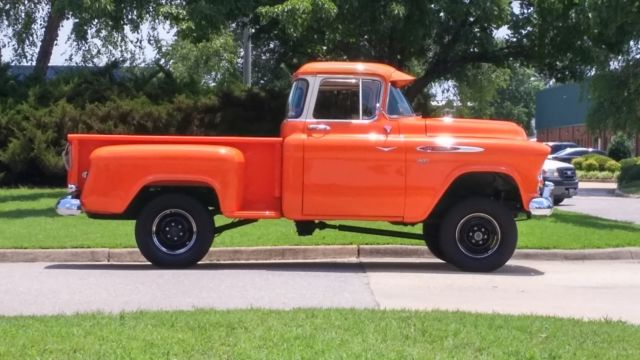 1957 chevy 3100 napco truck for sale photos technical specifications description. Black Bedroom Furniture Sets. Home Design Ideas