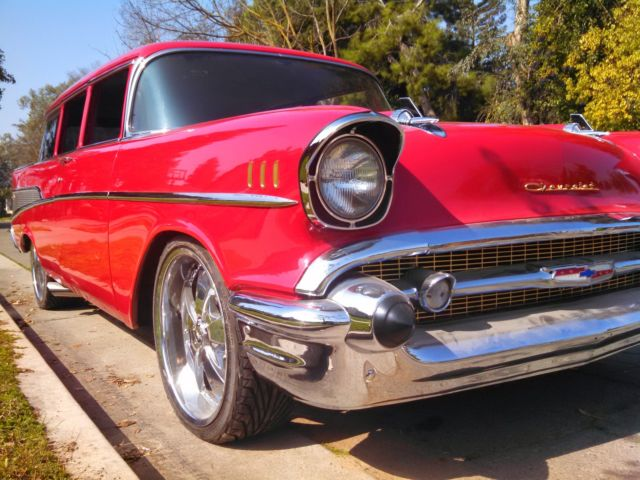 1957 Chevrolet Bel Air/150/210 townsman ,hot rod,1957,4 dr station wagon