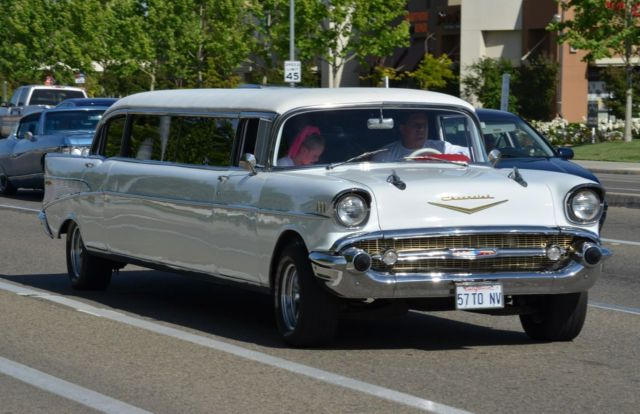 1957 Chevy Bel Air 120 Stretch Limousine